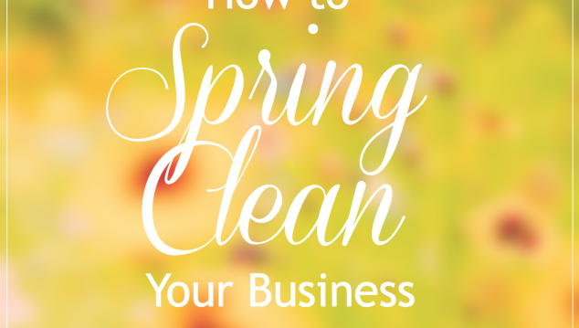 How to Spring Clean your Business { so you can make room for more new business }
