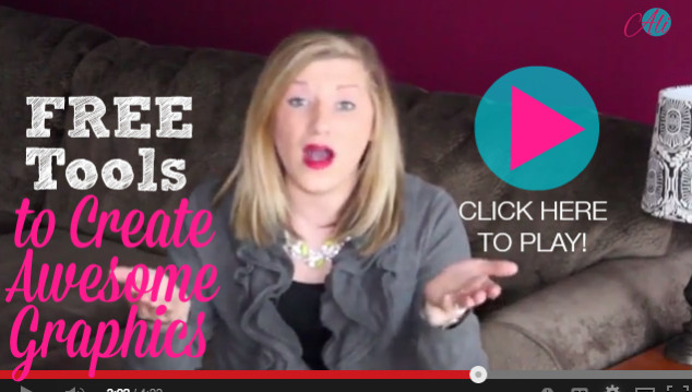 5 Free Tools to Create Awesome Graphics for your Blog & Social Media { #2 is becoming my new fav! }