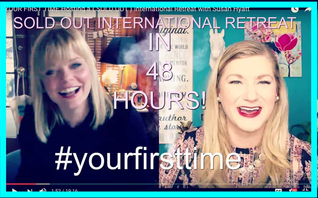 Your First Time :: Hosting a { SOLD OUT } International Retreat with Susan Hyatt